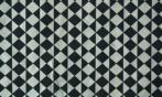 Papel rombos negro y blanco