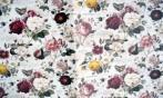 Papel Flores Vintage